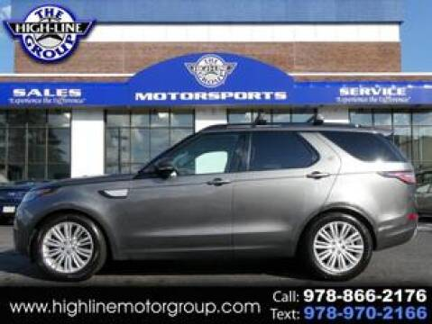 2017 Land Rover Discovery for sale at Highline Group Motorsports in Lowell MA
