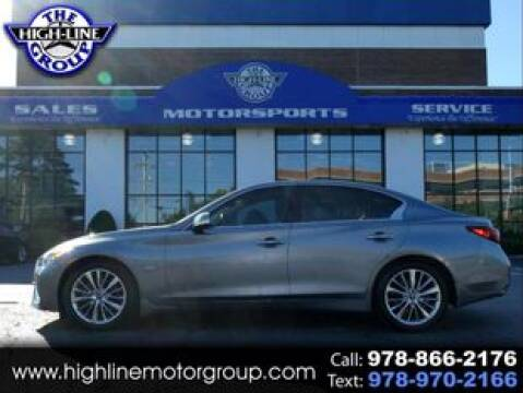 2018 Infiniti Q50 for sale at Highline Group Motorsports in Lowell MA