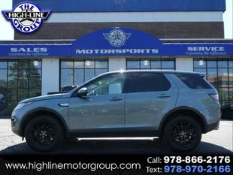 2019 Land Rover Discovery Sport for sale at Highline Group Motorsports in Lowell MA