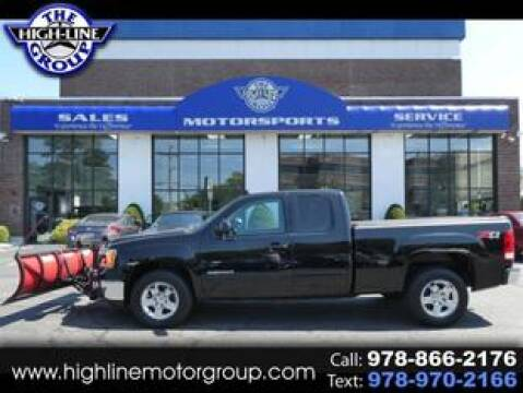 2012 GMC Sierra 1500 for sale at Highline Group Motorsports in Lowell MA