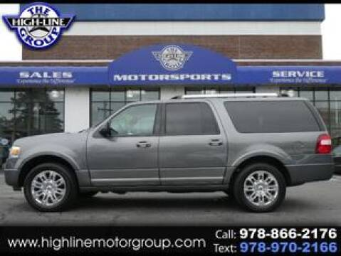 2014 Ford Expedition EL for sale at Highline Group Motorsports in Lowell MA