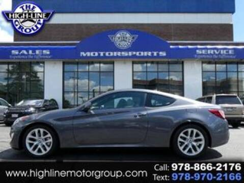 2014 Hyundai Genesis Coupe for sale at Highline Group Motorsports in Lowell MA