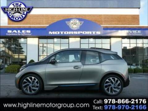 2017 BMW i3 for sale at Highline Group Motorsports in Lowell MA