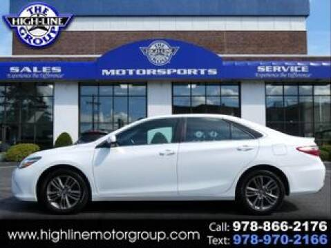 2017 Toyota Camry for sale at Highline Group Motorsports in Lowell MA