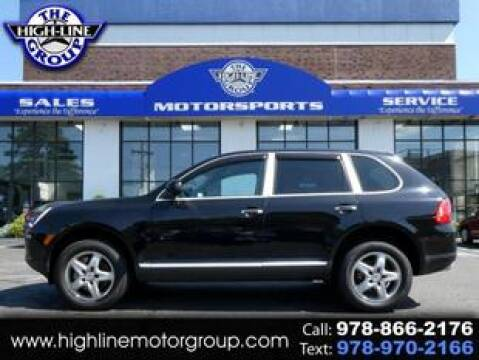 2004 Porsche Cayenne for sale at Highline Group Motorsports in Lowell MA