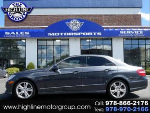 2012 Mercedes-Benz E-Class for sale at Highline Group Motorsports in Lowell MA