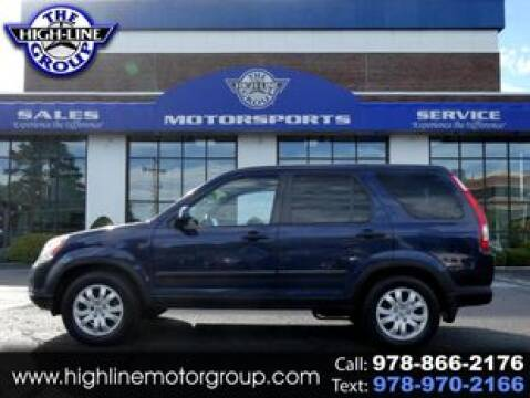 2005 Honda CR-V for sale at Highline Group Motorsports in Lowell MA