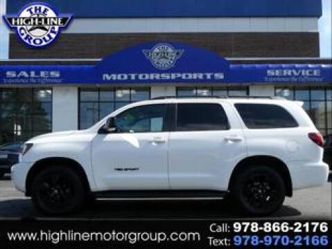 2018 Toyota Sequoia for sale at Highline Group Motorsports in Lowell MA