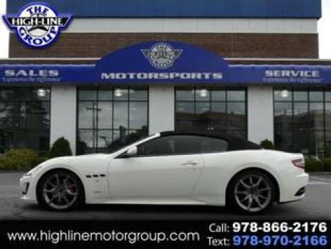 2014 Maserati GranTurismo for sale at Highline Group Motorsports in Lowell MA