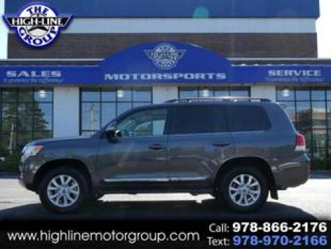 2020 Toyota Land Cruiser for sale at Highline Group Motorsports in Lowell MA