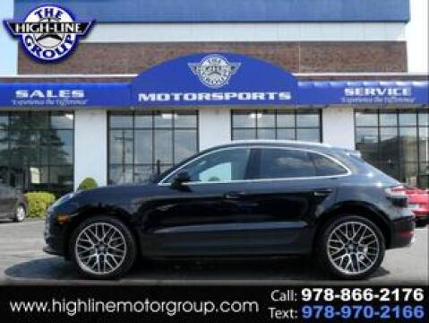 2019 Porsche Macan for sale at Highline Group Motorsports in Lowell MA