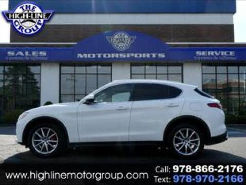 2018 Alfa Romeo Stelvio for sale at Highline Group Motorsports in Lowell MA