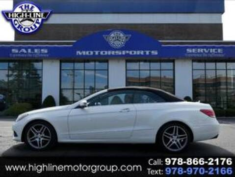 2015 Mercedes-Benz E-Class for sale at Highline Group Motorsports in Lowell MA