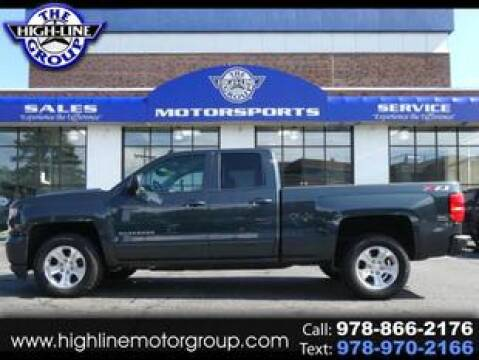 2018 Chevrolet Silverado 1500 for sale at Highline Group Motorsports in Lowell MA