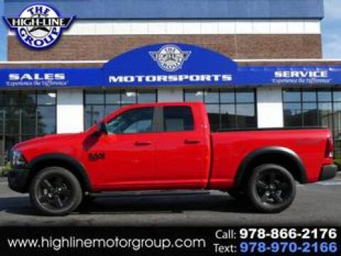 2019 RAM Ram Pickup 1500 Classic for sale at Highline Group Motorsports in Lowell MA