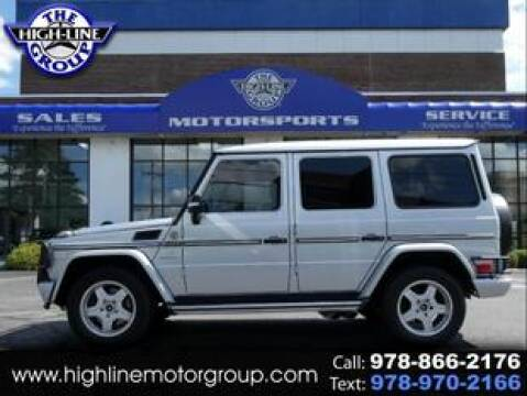 2005 Mercedes-Benz G-Class for sale at Highline Group Motorsports in Lowell MA