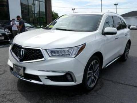 2017 Acura MDX for sale at Highline Group Motorsports in Lowell MA
