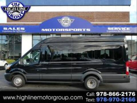 2017 Ford Transit Passenger for sale at Highline Group Motorsports in Lowell MA