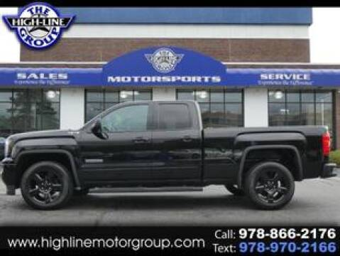 2018 GMC Sierra 1500 for sale at Highline Group Motorsports in Lowell MA