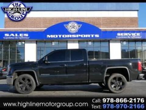 2016 GMC Sierra 1500 for sale at Highline Group Motorsports in Lowell MA