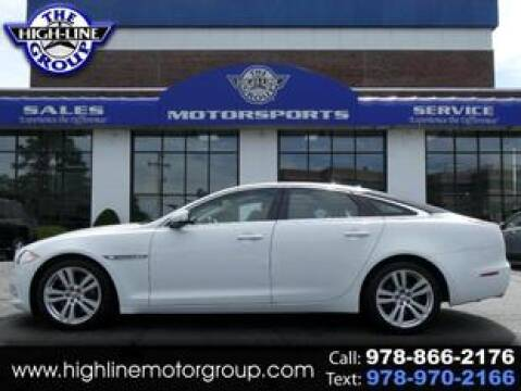 2014 Jaguar XJ for sale at Highline Group Motorsports in Lowell MA