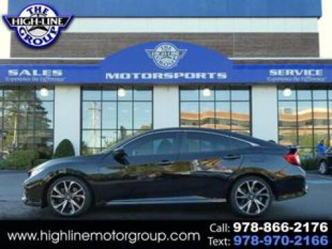 2018 Honda Civic for sale at Highline Group Motorsports in Lowell MA