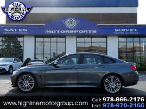 2015 BMW 4 Series for sale at Highline Group Motorsports in Lowell MA