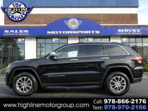 2015 Jeep Grand Cherokee for sale at Highline Group Motorsports in Lowell MA
