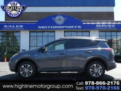 2017 Toyota RAV4 Hybrid for sale at Highline Group Motorsports in Lowell MA