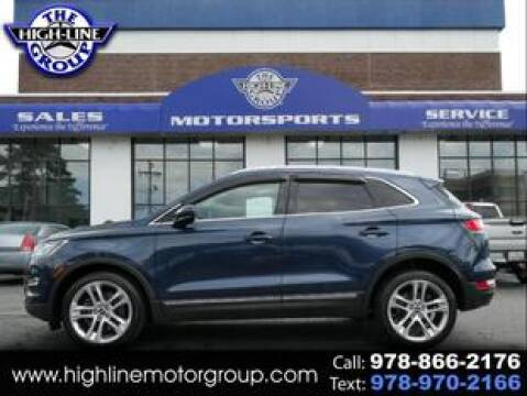 2017 Lincoln MKC for sale at Highline Group Motorsports in Lowell MA