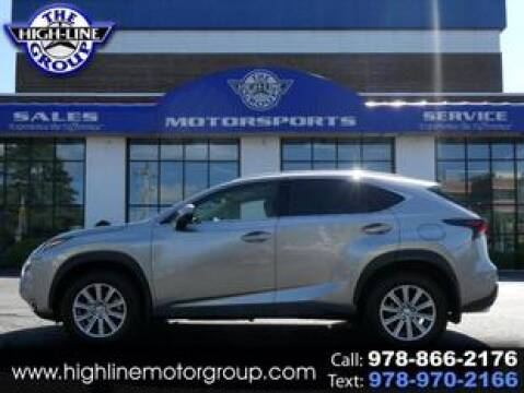 2017 Lexus NX 200t for sale at Highline Group Motorsports in Lowell MA