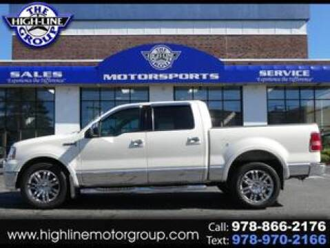 2007 Lincoln Mark LT for sale at Highline Group Motorsports in Lowell MA