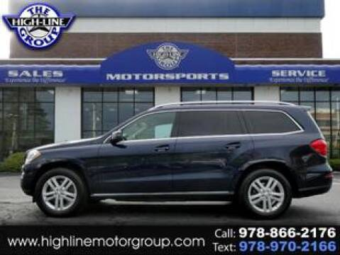 2013 Mercedes-Benz GL-Class for sale at Highline Group Motorsports in Lowell MA