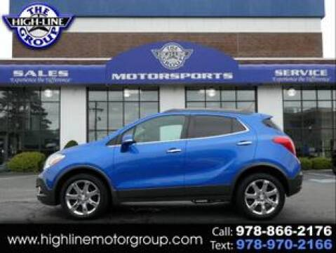 2016 Buick Encore for sale at Highline Group Motorsports in Lowell MA