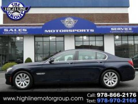 2011 BMW 7 Series for sale at Highline Group Motorsports in Lowell MA