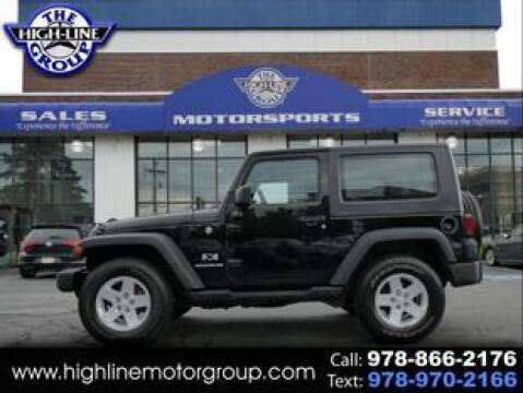 2008 Jeep Wrangler for sale at Highline Group Motorsports in Lowell MA