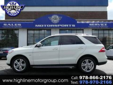 2012 Mercedes-Benz M-Class for sale at Highline Group Motorsports in Lowell MA