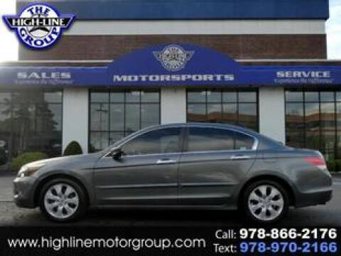 2009 Honda Accord for sale at Highline Group Motorsports in Lowell MA