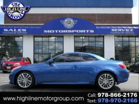 2009 Infiniti G37 Convertible for sale at Highline Group Motorsports in Lowell MA