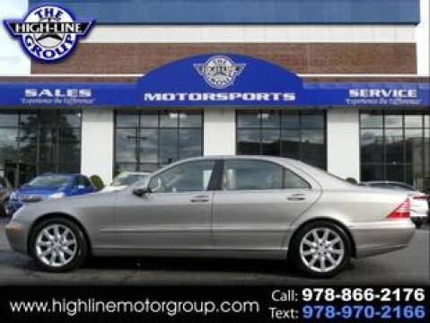 2003 Mercedes-Benz S-Class for sale at Highline Group Motorsports in Lowell MA