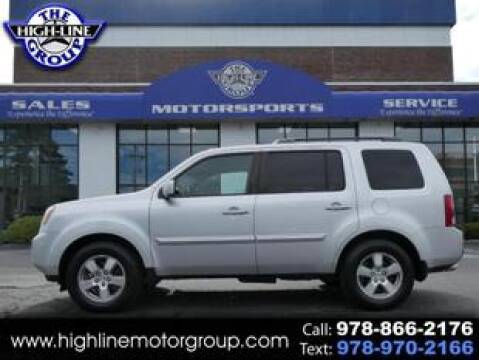 2009 Honda Pilot for sale at Highline Group Motorsports in Lowell MA