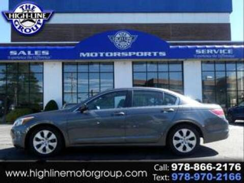 2010 Honda Accord for sale at Highline Group Motorsports in Lowell MA