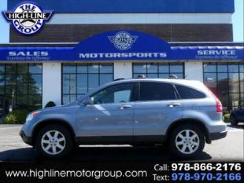 2008 Honda CR-V for sale at Highline Group Motorsports in Lowell MA