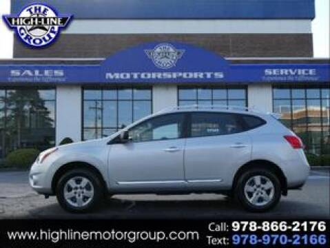 2014 Nissan Rogue Select for sale at Highline Group Motorsports in Lowell MA