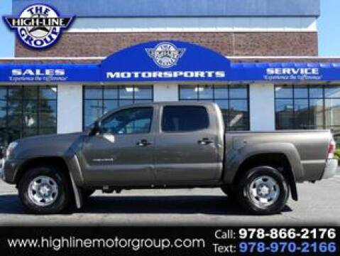 2015 Toyota Tacoma for sale at Highline Group Motorsports in Lowell MA