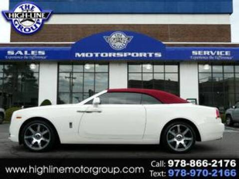 2017 Rolls-Royce Dawn for sale at Highline Group Motorsports in Lowell MA