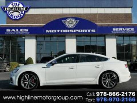 2018 Audi S5 Sportback for sale at Highline Group Motorsports in Lowell MA