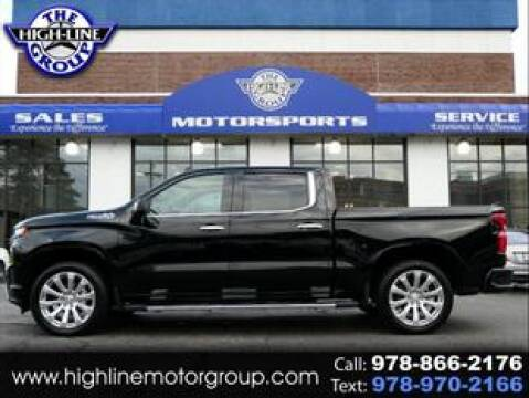 2019 Chevrolet Silverado 1500 for sale at Highline Group Motorsports in Lowell MA