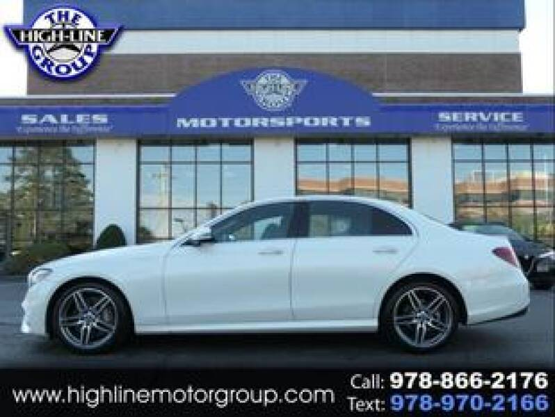 2020 Mercedes-Benz E-Class for sale at Highline Group Motorsports in Lowell MA