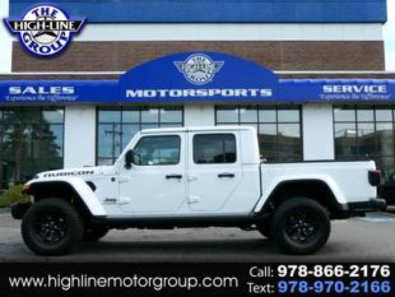 2020 Jeep Gladiator for sale at Highline Group Motorsports in Lowell MA